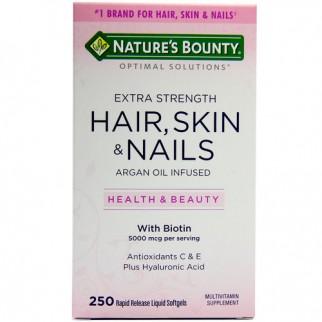 Hair Skin Nail Nature's Bounty -Hỗ trợ làm đẹp Da, Tóc, Móng