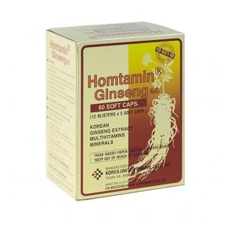 Viên uống Homtamin Ginseng- Xuất xứ Hàn Quốc