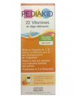 Pediakid 22 Vitamines Của Pháp Cho Trẻ Từ 6 Tháng Trở Lên