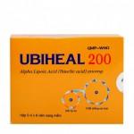 Thuốc tăng hệ miễn dịch và hỗ trợ điều trị bệnh Ubiheal 200
