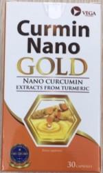 Viên uống Curmin Nano Gold Vega (Hộp 30 viên)