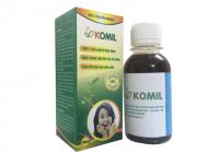 Thảo dược trị hôi miệng Komil 100ml