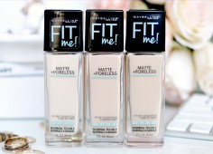 Kem nền Maybelline fit me Matte Poreless kiềm dầu 30ml