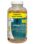 Omega 3 6 9 Member's Mark Supports Heart Health Của Mỹ