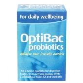 Men vi sinh Optibac xanh da trời Optibac For Daily Wellbeing