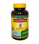 Vitamin E 400 iu Nature Made 180 viên nang mềm
