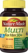 Vitamin tổng hợp cho nam Nature Made Multi For Him 50+ 90 viên