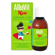 Dung dịch uống Albavit Kids Calcium+ D3 (150ml)