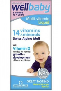 Wellbaby - Multi Vitamin Liquid 150ml Của Anh
