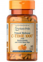 Puritan's Pride Vitamin C 1000mg Timed Release with Rose Hips