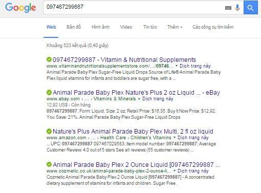 Vitamin Tổng Hợp Baby Plex Dạng Nước 60ml Cho Trẻ