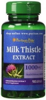 Viên Uống Bổ Gan Milk Thistle Extract 1000mg Lọ 90 Viên