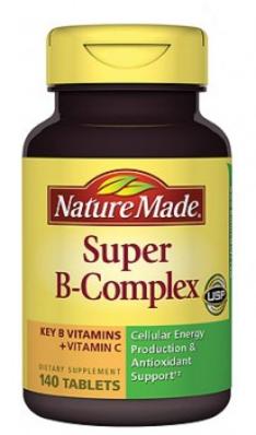 Nature Made Super B-complex Giảm Mệt Mỏi, Uể Oải