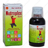 Combo 3 Chai Vitamin Tổng Hợp Nutroplex 120ml