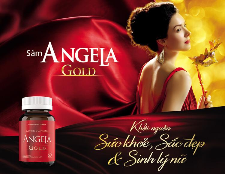 Sâm Angela Gold Của Mỹ Dành Cho Nữ
