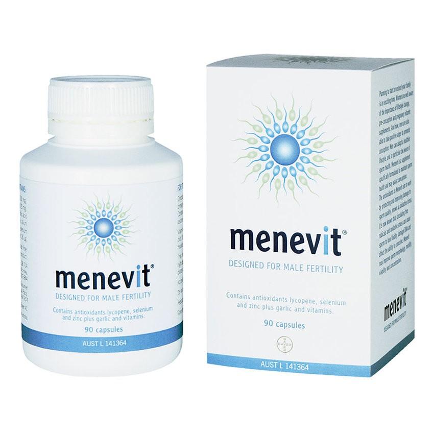 Menevit: Viên Uống Hỗ Trợ Cải Thiện Chất Lượng Tinh Trùng