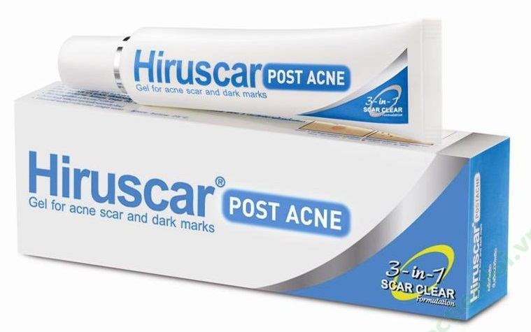 Hiruscar Post Acne - Kem Hỗ Trợ Trị Sẹo Hiệu Quả