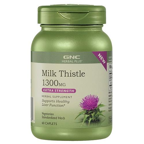 GNC Milk Thistle 1300mg