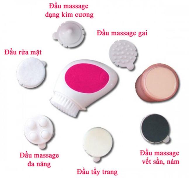 Máy Massage Mặt Cnaier AE-807A 7 In 1