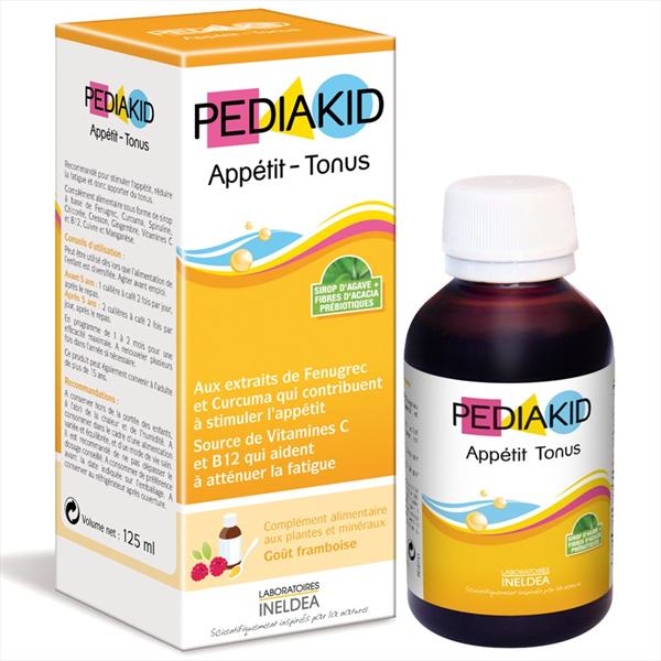 Siro Pediakid Appetit Tonus Chính Hãng Của Pháp Hộp 125ml