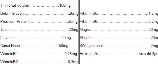 Cốm Lợi Sữa Tasuamum Tăng Tiết Sữa, Cải Thiện Chất Lượng Sữa