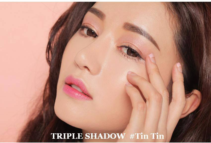 Phấn Mắt 3 Màu 3CE Triple Shadow Tin Tin