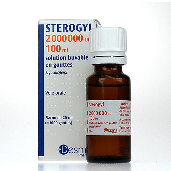 Vitamin D Sterogyl 100ml Chống Còi Xương Cho Bé Từ 0-18 Tháng