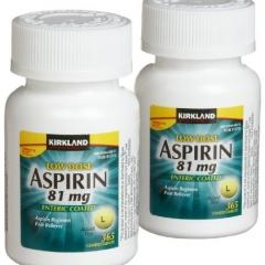 Aspirin 81mg Kirkland - Giảm Đau Và Nguy Cơ Nhồi Máu Cơ Tim