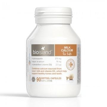Milk Calcium Bio Island Úc Cho Trẻ Từ 7 Tháng Tuổi