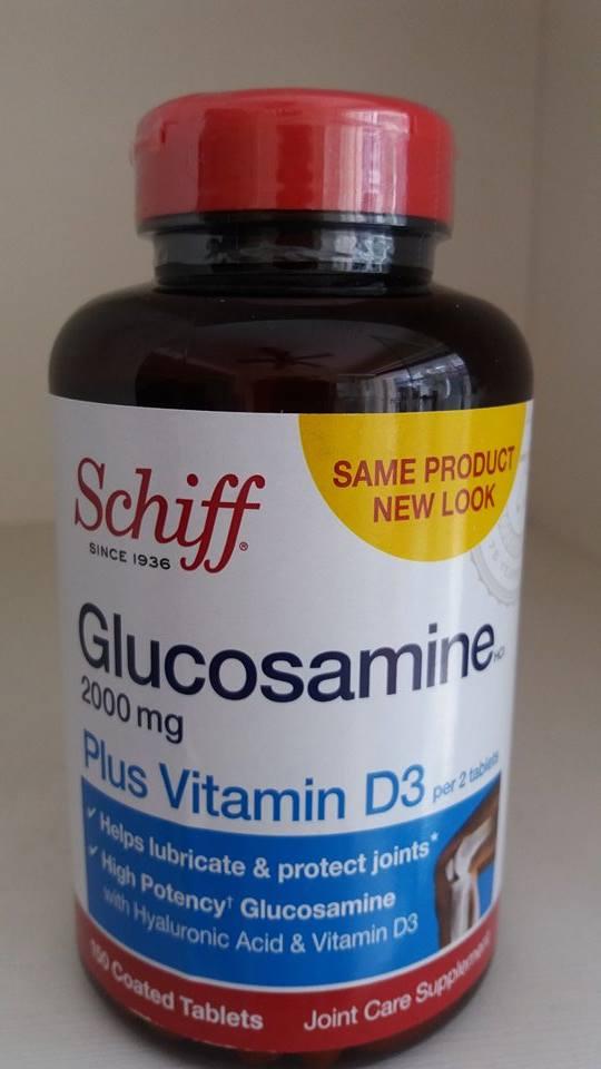 Viên Bổ Xương Khớp Schiff Glucosamine 2000mg Plus Vitamin D3
