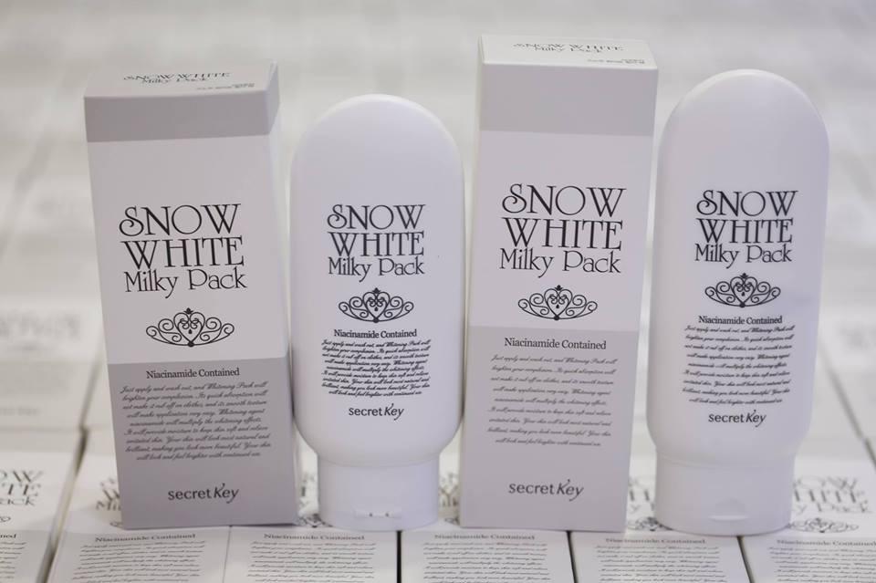 Kem Hỗ Trợ Dưỡng Trắng Toàn Thân Snow White Milky Pack
