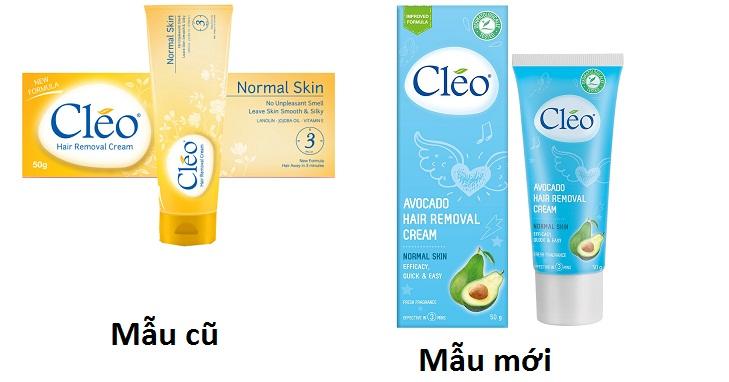Kem Tẩy Lông Cleo Của Mỹ 50g Không Đau Rát