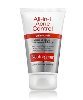 Sữa Rửa Mặt Trị Mụn Neutrogena All In 1 Acne 125ml
