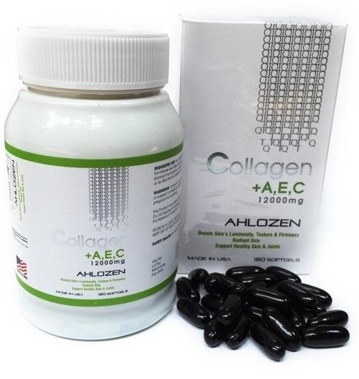 Viên Uống Đẹp Da Collagen AEC 12000mg Của Mỹ
