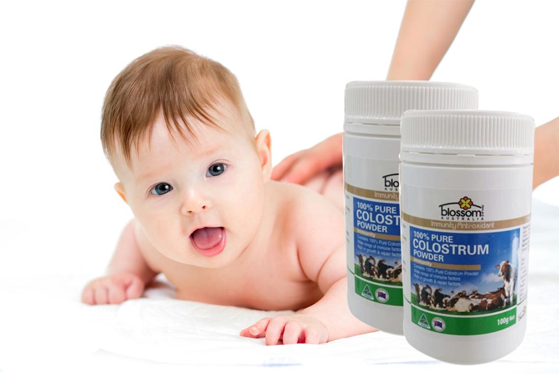 Sữa Bò Non Nguyên Chất Úc Blossom Colostrum Powder