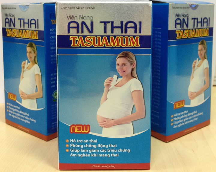 Viên Nang An Thai Tasuamum Giảm Nghén Khi Mang Thai