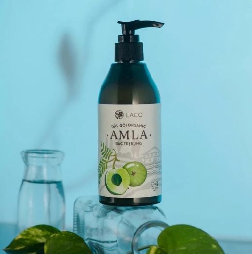 Dầu gội organic Amla đặc trị rụng tóc