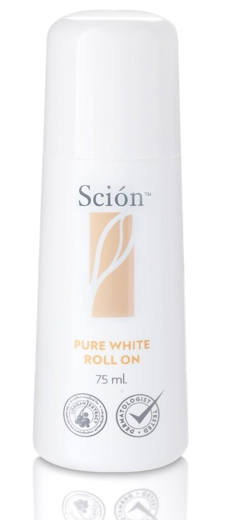 Lăn Hỗ Trợ Khử Mùi Scion Pure White Roll On Của Mỹ