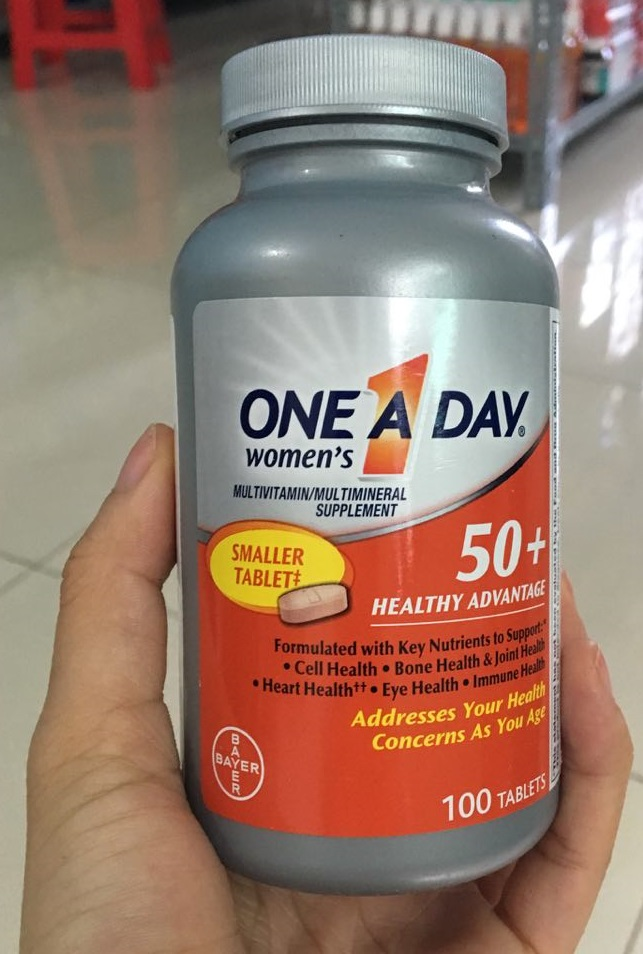 Vitamin tổng hợp One A Day For Women 50+