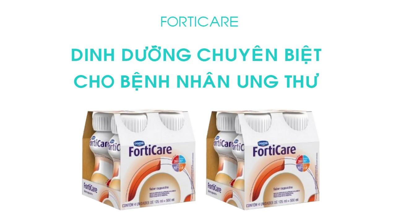Sữa Forticare Dinh Dưỡng Chuyên Biệt Cho Bệnh Nhân Ung Thư