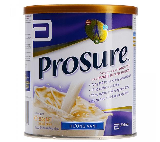 Sữa Prosure Cho Người Bị Ung Thư Duy Trì, Phục Hồi Sức Khỏe