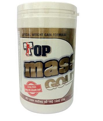 Sữa tăng cân Top Mass Gold: thực phẩm bổ sung dinh dưỡng tốt cho sức khỏe.