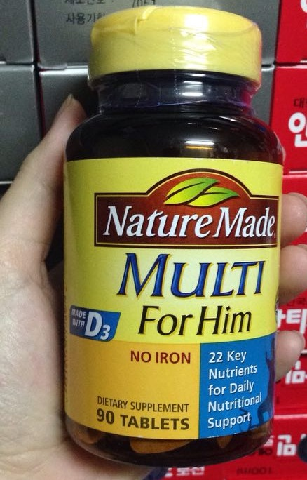 Vitamin tổng hợp cho nam Nature Made Multi For Him