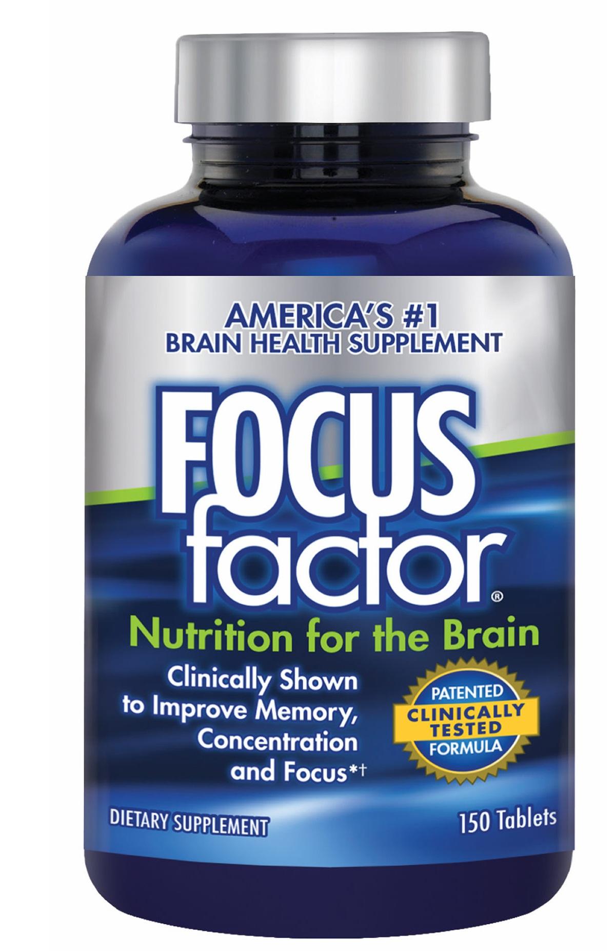 Focus Factor - Viên Uống Bổ Não Của Mỹ (150 Viên )