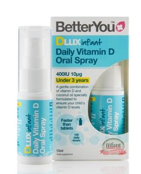 Vitamin D3 Dlux Dạng Xịt Của Anh Cho Trẻ Từ 0 - 3 Tuổi