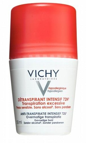 - Lăn khử mùi Vichy màu đỏ