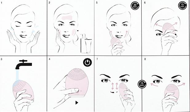 Máy Rửa Mặt Halio Công Nghệ Sonic Wave Facial Cleansing