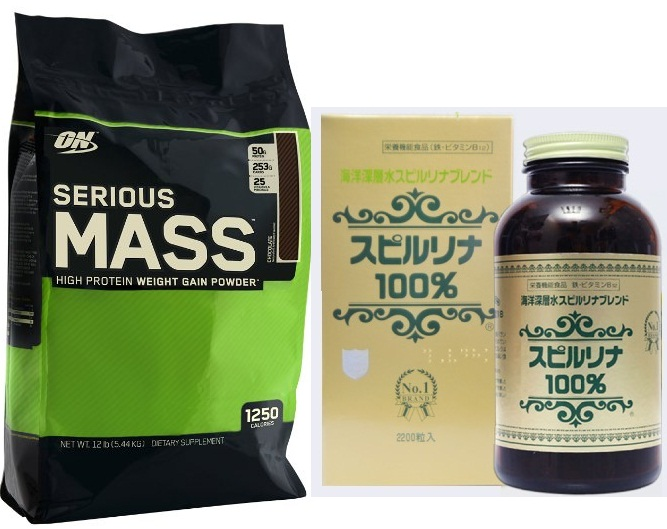 Serious Mass - Sữa Tăng Cân 12 LBs (5.44kg)