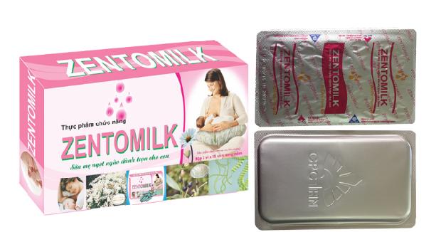 Zentomilk - Viên Uống Hỗ Trợ Cải Thiện Chất Lượng Sữa Mẹ