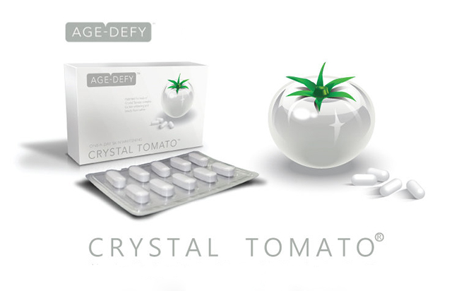 Viên Uống Trắng Da Crystal Tomato Của Mỹ